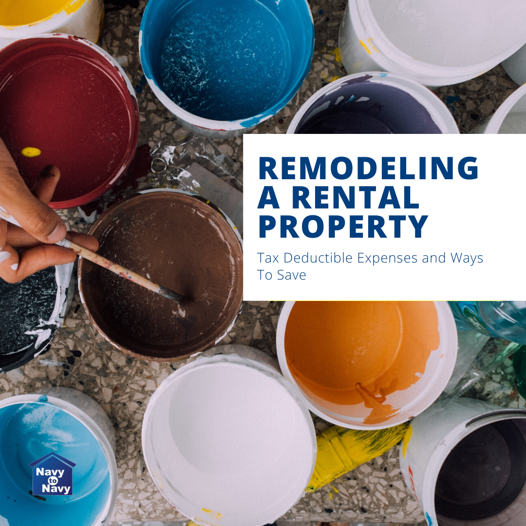 Remodeling A Rental Property - Tax Deductible Remodel Tips