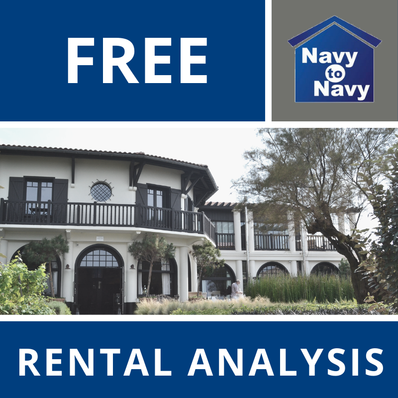 free rental analysis rental property navy to navy