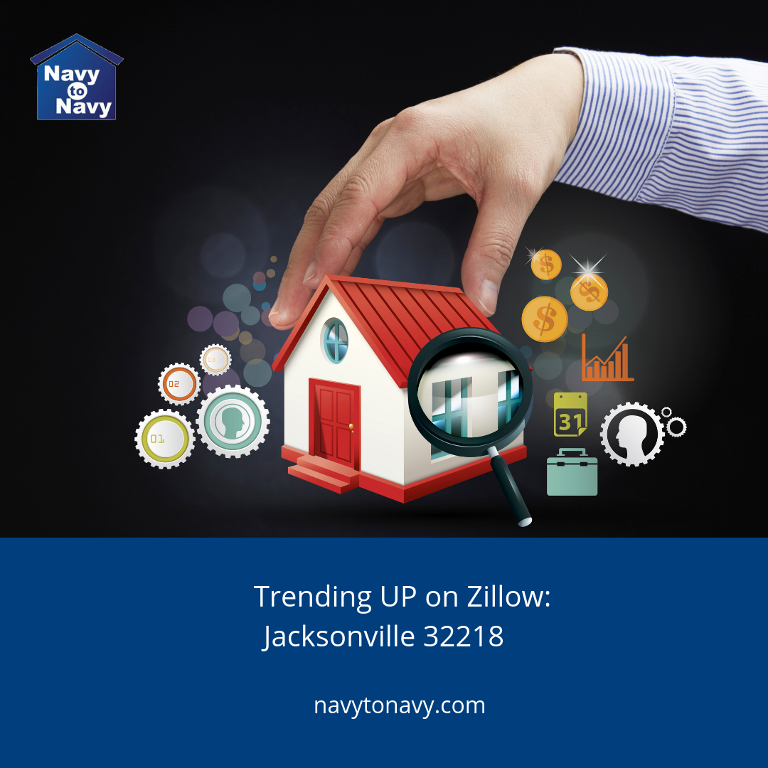 Trending UP on Zillow: Jacksonville FL 32218