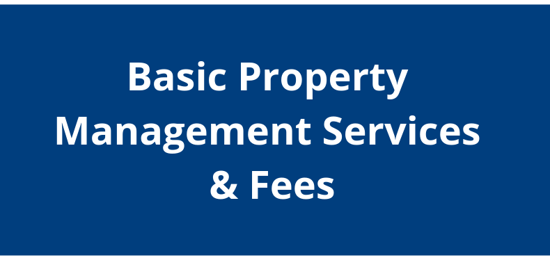 Navy to Navy Basic Property Management Services and Fees
