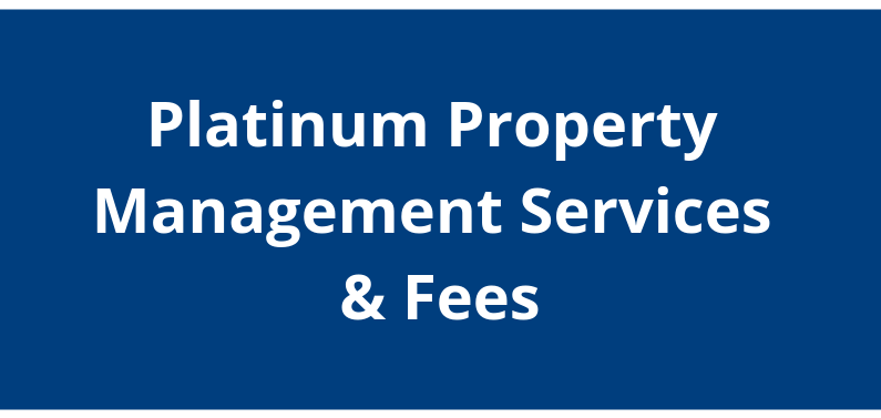 Navy to Navy Platinum Property Management Services and Fees