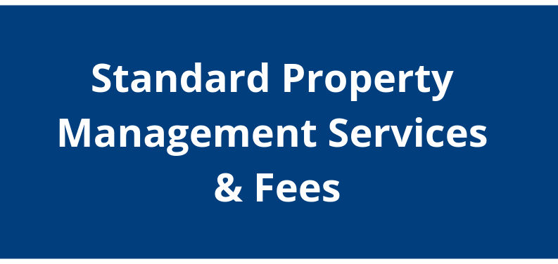 Navy to Navy Standard Property Management Services and Fees