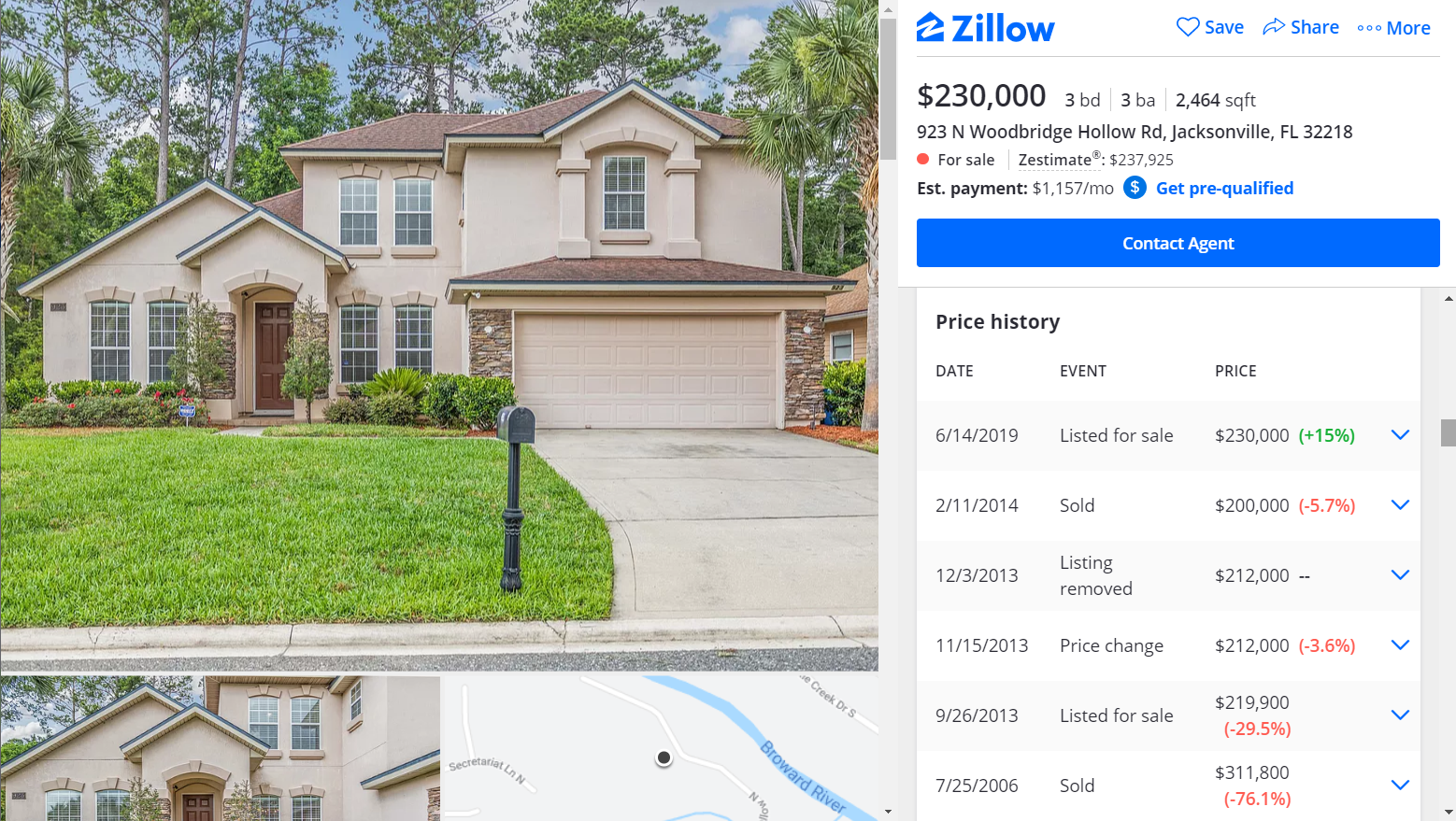zillow jacksonville fl home rental mortgage analysis - navy to navy homes